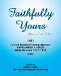 Faithfully Yours - Selective Rabbinical Correspondence of Samuel S. Cohon - book edited by Baruch Cohon